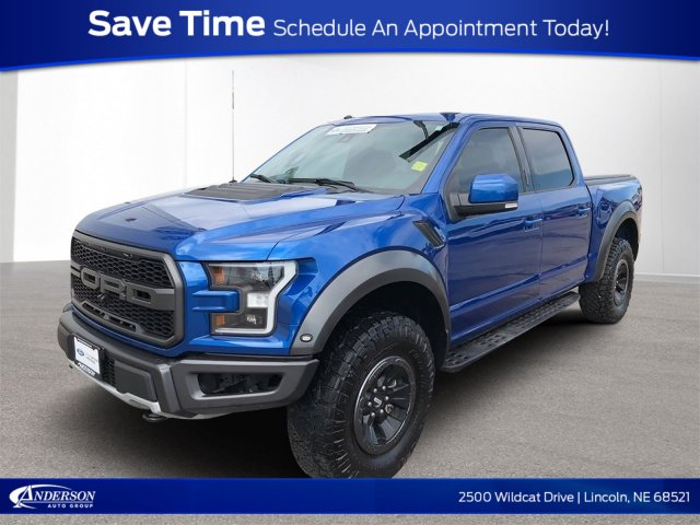 Pre Owned 2017 Ford F 150 Raptor 4wd Crew Cab Pickup