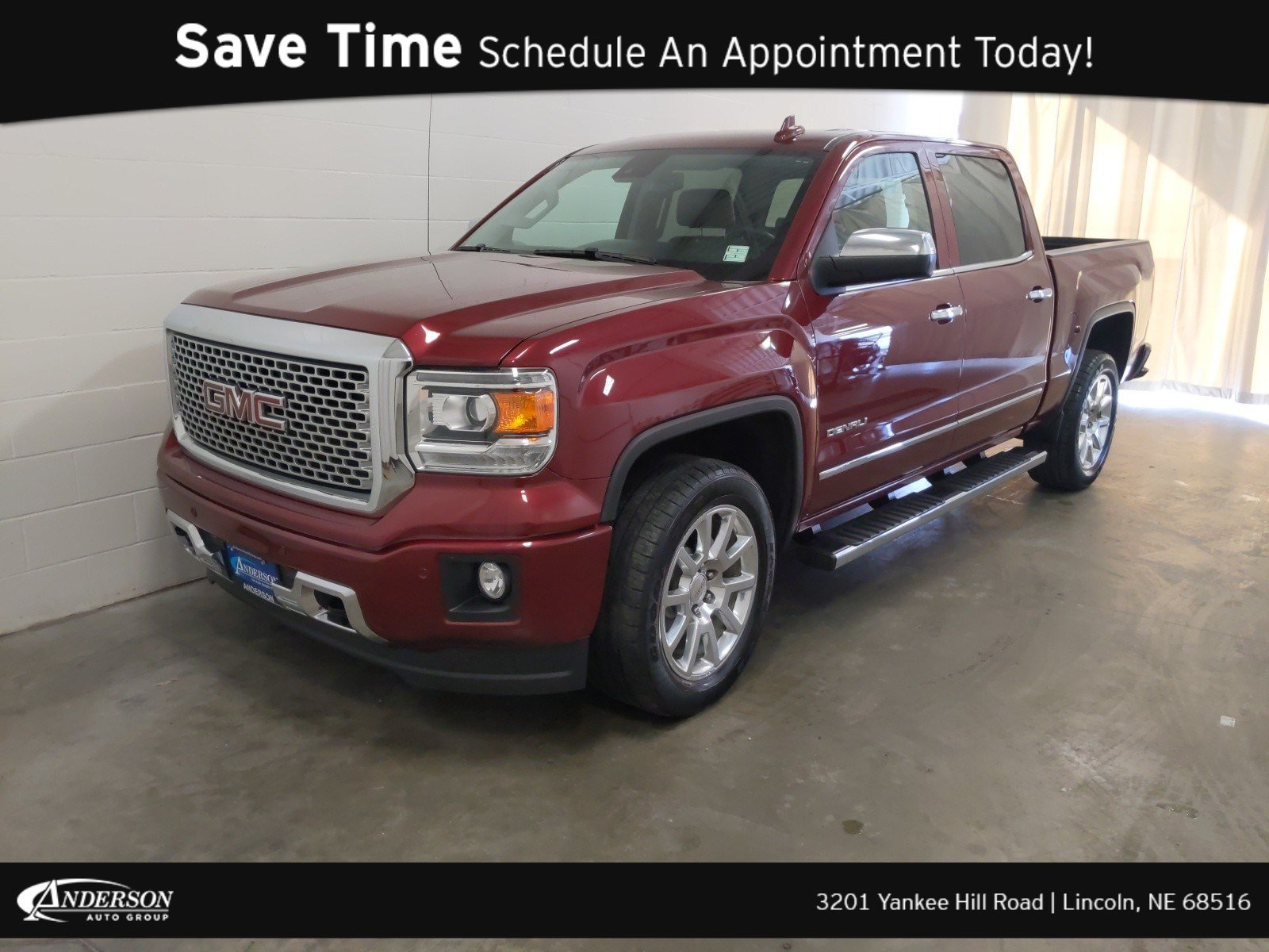 2015 Gmc Sierra Denali >> Pre Owned 2015 Gmc Sierra 1500 Denali Crew Cab Pickup In Lincoln