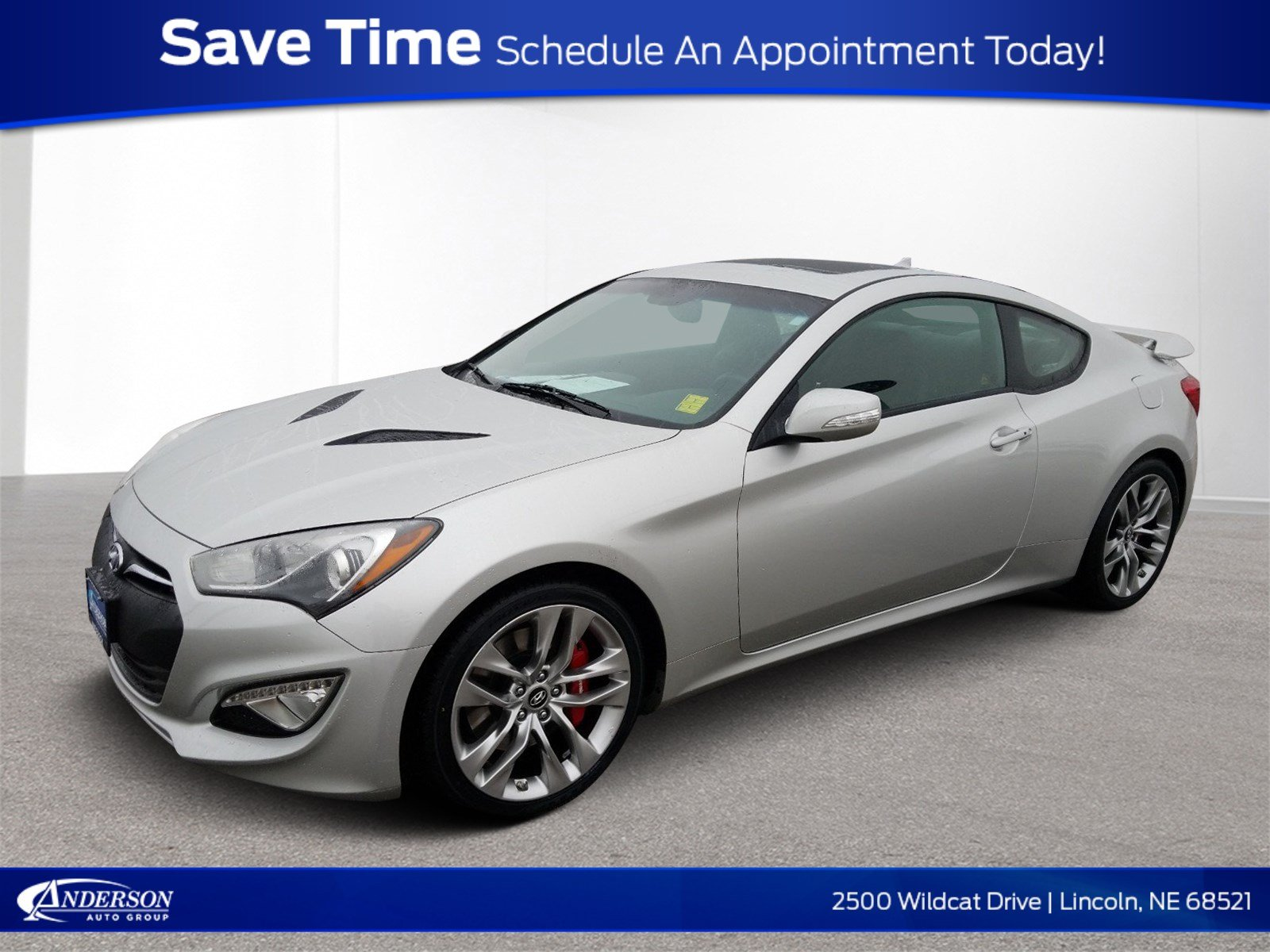 Pre-Owned 2013 Hyundai Genesis Coupe 3.8 Track