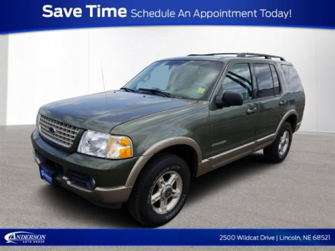 Pre-Owned 2002 Ford Explorer Eddie Bauer